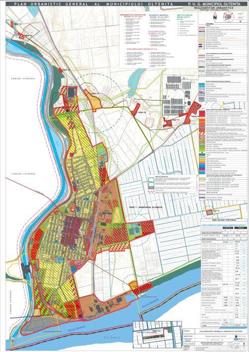 PUG Oltenița 2013, P3_Reglementări urbanistice
