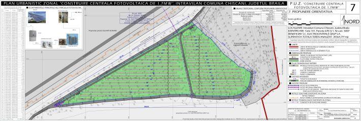 PUZ centrală fotovoltaică, comuna Chiscani, BR, 2014, P7.7_Propunere orientativă